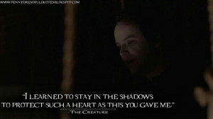 learned to stay in the shadows..Penny Dreadful quote