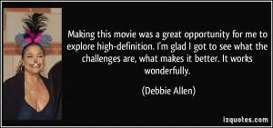 More Debbie Allen Quotes