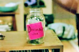 new girl douchebag jar