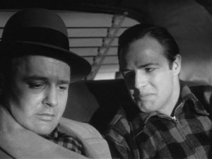Rod Steiger and Marlon Brando in the famous 'I could have been a ...