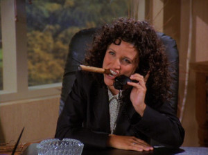 Elaine Benes Cigar