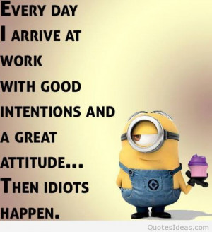 Minion quote about minions