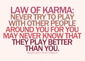 Karma Love Quotes Kootation...