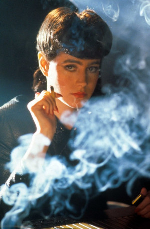Previous Next Blade Runner in pictures: Sean Young's Rachael lights up ...