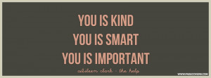 The Help You Is Kind You Is Smart Cover