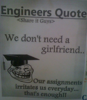 Top funny Engineering quotes and taglines?