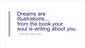 Writing Quote by Marsha Norman