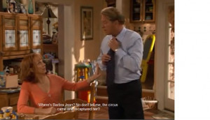 Reba and Brock quote. tv show