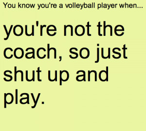 quotes about volleyball tumblr