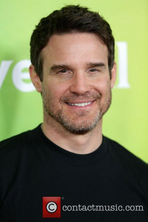 Eddie McClintock Celebrities pose at 2014 NBCUniversal Summer Press