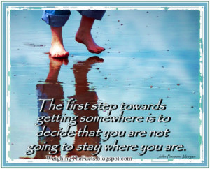 Recovery Quote Of The Week: March 1st 2010