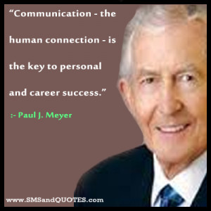 Communication The Human Connection