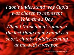 Valentine's quote - Cupid