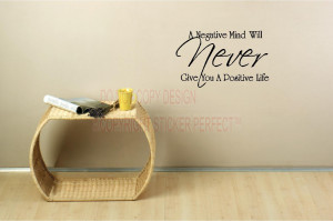... positive life vinyl wall decals quotes sayings lettering letters art