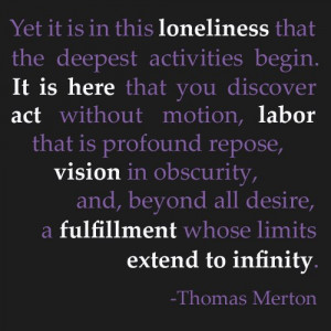 thomas merton infinity quote