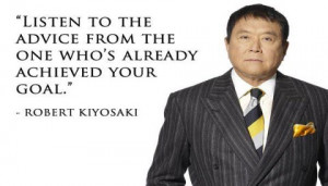 100 Robert Toru kiyosaki's quotes for money making and investment