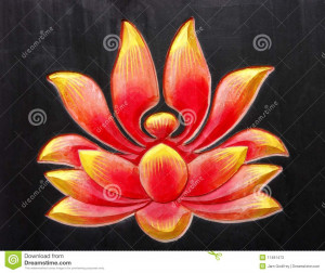 Buddhist Lotus Design