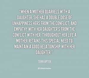 Mother Daughter Relationship Sayings Daughter quotes