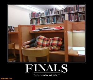 Picture Credit : Final Exams