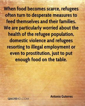 ... refugee population, domestic violence and refugees resorting to