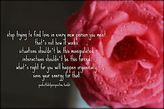 pocketful of perspective) Tags: inspiration love manipulation quotes ...