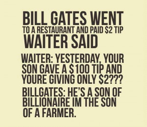 Motivational Quote on Bill Gates