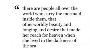 Quotes: Mermaid by Carolyn Turgeon