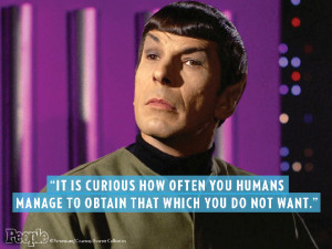 Star Trek Mr Spock Quotes