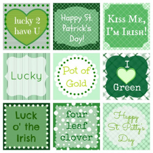 Saint Patricks Day Quotes For Kids: Luck The Irish And I Love The ...