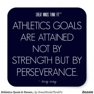 Athletics #Quote 8: Perseverance 4 Success #Sticker