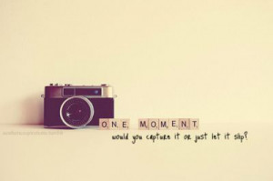 Capture the moment. The reason I'm the friend that posts TONS of ...