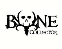 Bone Collector Decal Gun Deer Buck Skull Zombies Walking Dead Day of ...