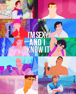 ... , disney princess, funny, guys, hot, prince, sexy, sexy and i know it