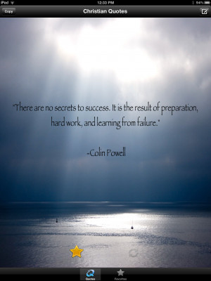 There Are No Secrets Of Success. It Is The Result Of Preparation, Hard ...