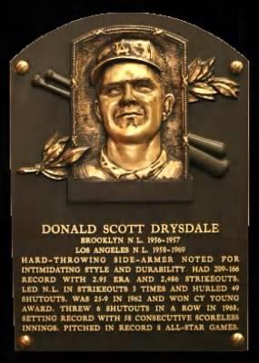 don drysdale don drysdale dodgers los angeles dodgers don drysdale ...