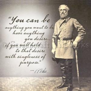 Robert E Lee Quote