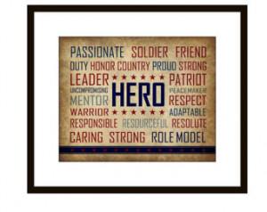 Military Hero Quotes Patriotic military hero