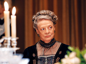 ... to have the Dowager Countess could put the smack down on Chef Tom