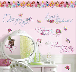 Wallhogs-Disney-Princess-Quotes-Room-Makeover-Wall-Decal-Kit-1-1521 ...