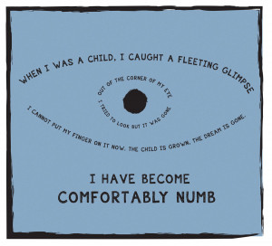 comfortably numb quotes