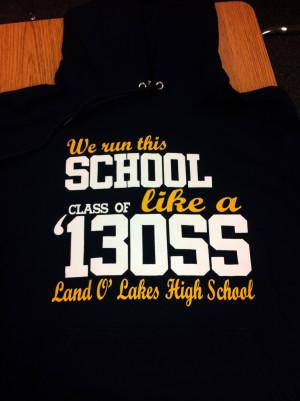 Seniors Shirts 2014 Senior shirts are in!