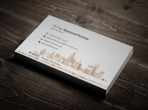 business cards 1 real estate business card designed by themeflava