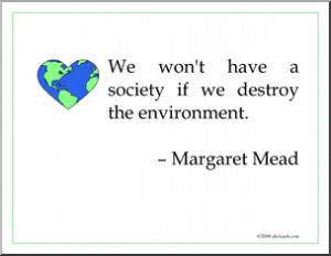 Environmental Green Quotes
