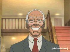 Boondocks Grandad Jaysanart