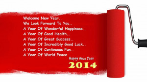 Happy New Year 2014 Wishes Greetings for Friend
