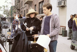 ... man names tobey maguire laura ziskin producer laura ziskin and star