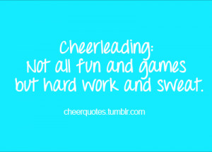 Cheerleading quotes, funny cheerleading quotes, cute cheerleading ...
