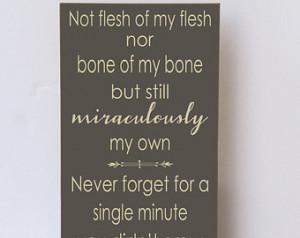 ... Blended Family Sign, Wood Sign, Art for Family, Adoption Gift, Blended