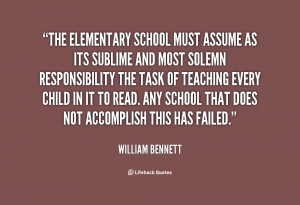 Quotes About Elementary School