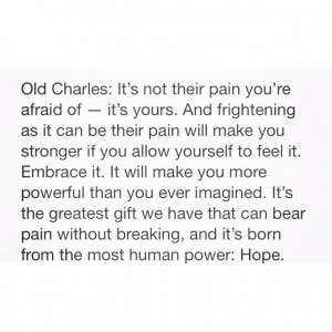 Quote Charles Xavier